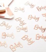 """Konfetti """"Baby"""" - rosegold - 14 g"""