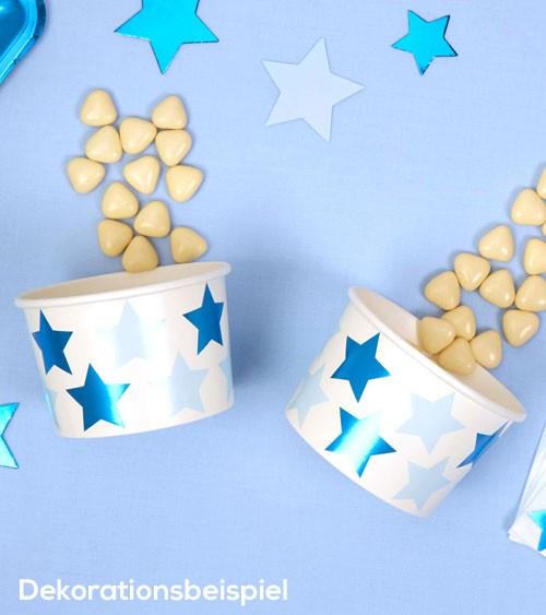 """Eisbecher """"Little Star Blue"""" - 8 Stück"""