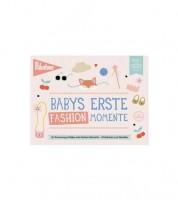 "Milestone Karten-Set ""Babys erste Fashion-Momente"" - 6-teilig"