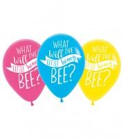 """Luftballon-Set """"What will it Bee?"""" - 6 Stück"""