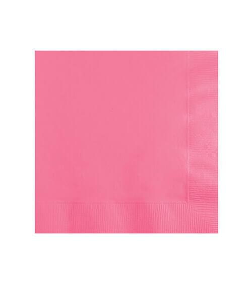 Cocktail-Servietten - candy pink - 50 Stück