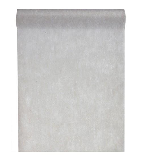 Tischläufer aus Vlies - grau - 30 cm x 10 m