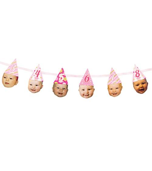 "Foto-Girlande ""1st Birthday Girl"" - 1,82 m"