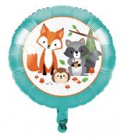 "Runder Folienballon ""Wild One Woodland"" - 46 cm"
