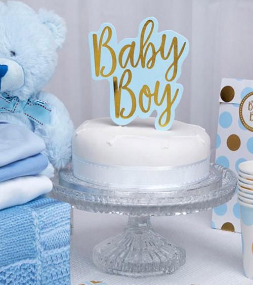 "Cake-Topper ""Baby Boy"""