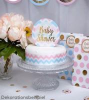 """Cake-Topper """"Baby Shower"""""""