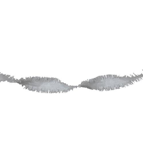 Drehgirlande 24 m - silber