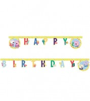 "Happy Birthday Girlande ""Peppa Wutz Party"" - 2 m"