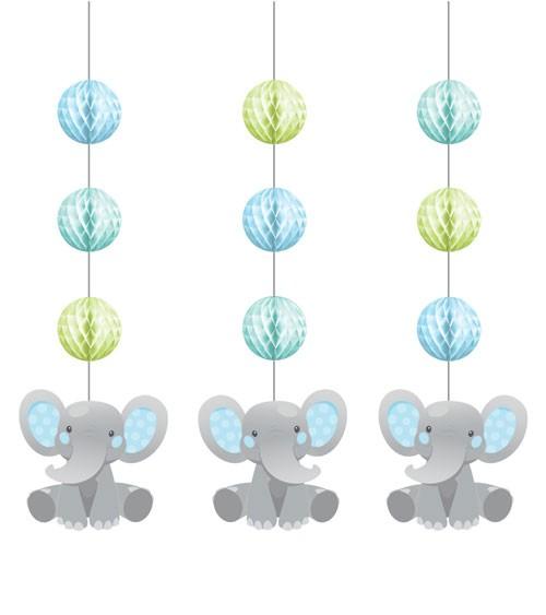 "3er-Motivgirlande ""Little Elephant - Boy"""
