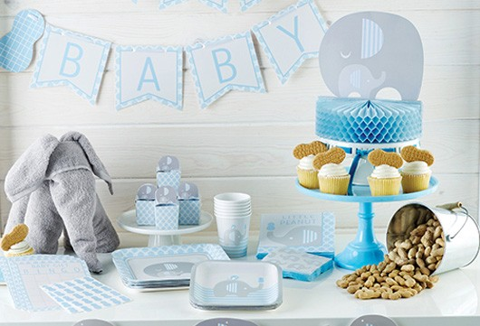 Deko Serien Taufe Baby Belly Party Schweiz