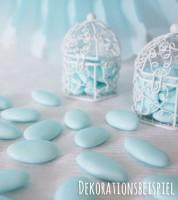 Schokoladen-Dragees - hellblau - 1 kg
