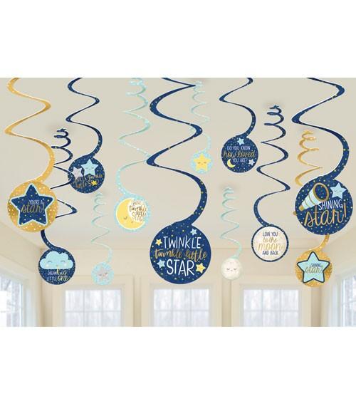 """Spiralgirlanden """"Little Star"""" - 12-teilig"""
