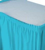 Tischverkleidung - bermuda blue - 4,26 m