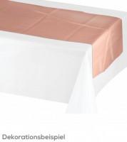 Tischläufer - metallic rosegold - 35,5 cm x 2,13 m