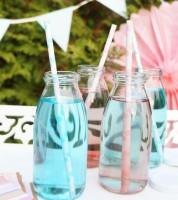 Milchflasche mit Deckel - 250 ml