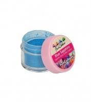 Funcakes Lebensmittelfarbe Pulver - glitter saphirblau - 1,5 g